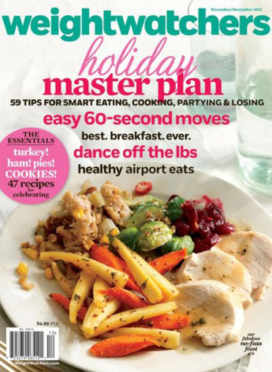 weight watchers magazine holiday issue