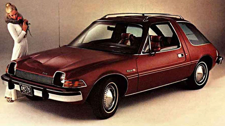 amc pacer ugly 1970s car