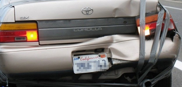fix car bumper duct tape