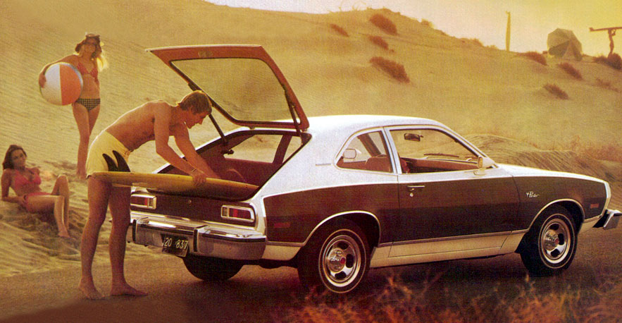 ford pinto ugly 70s car