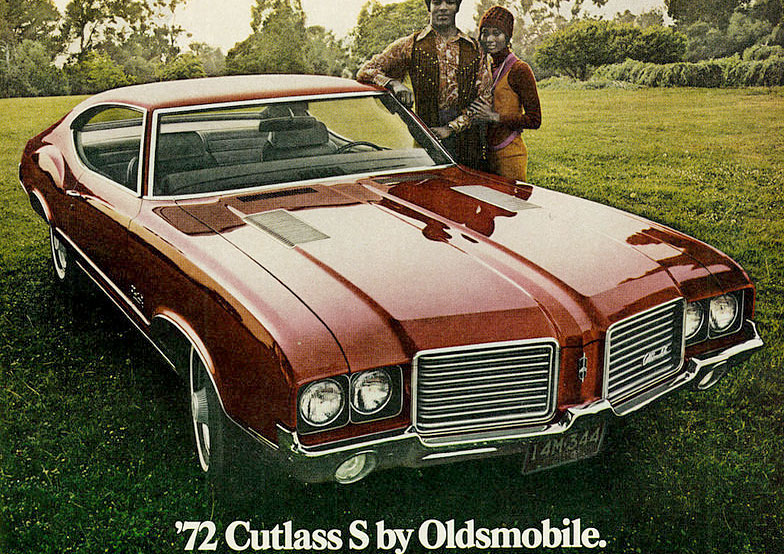 oldsmobile cutlass ugly car 1972