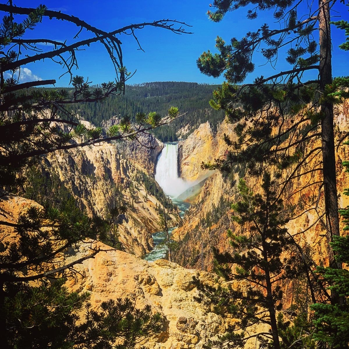 Upper Falls of the Grand Canyon of the Yellowstone