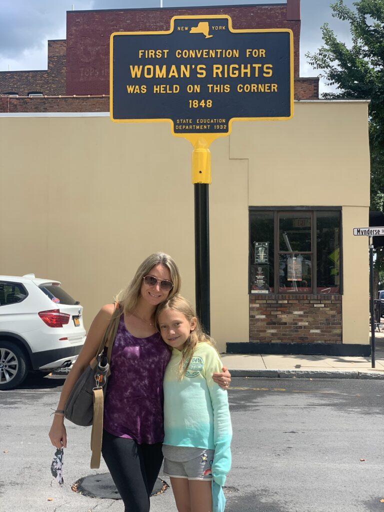 Cam and Missy in Seneca Falls, NY