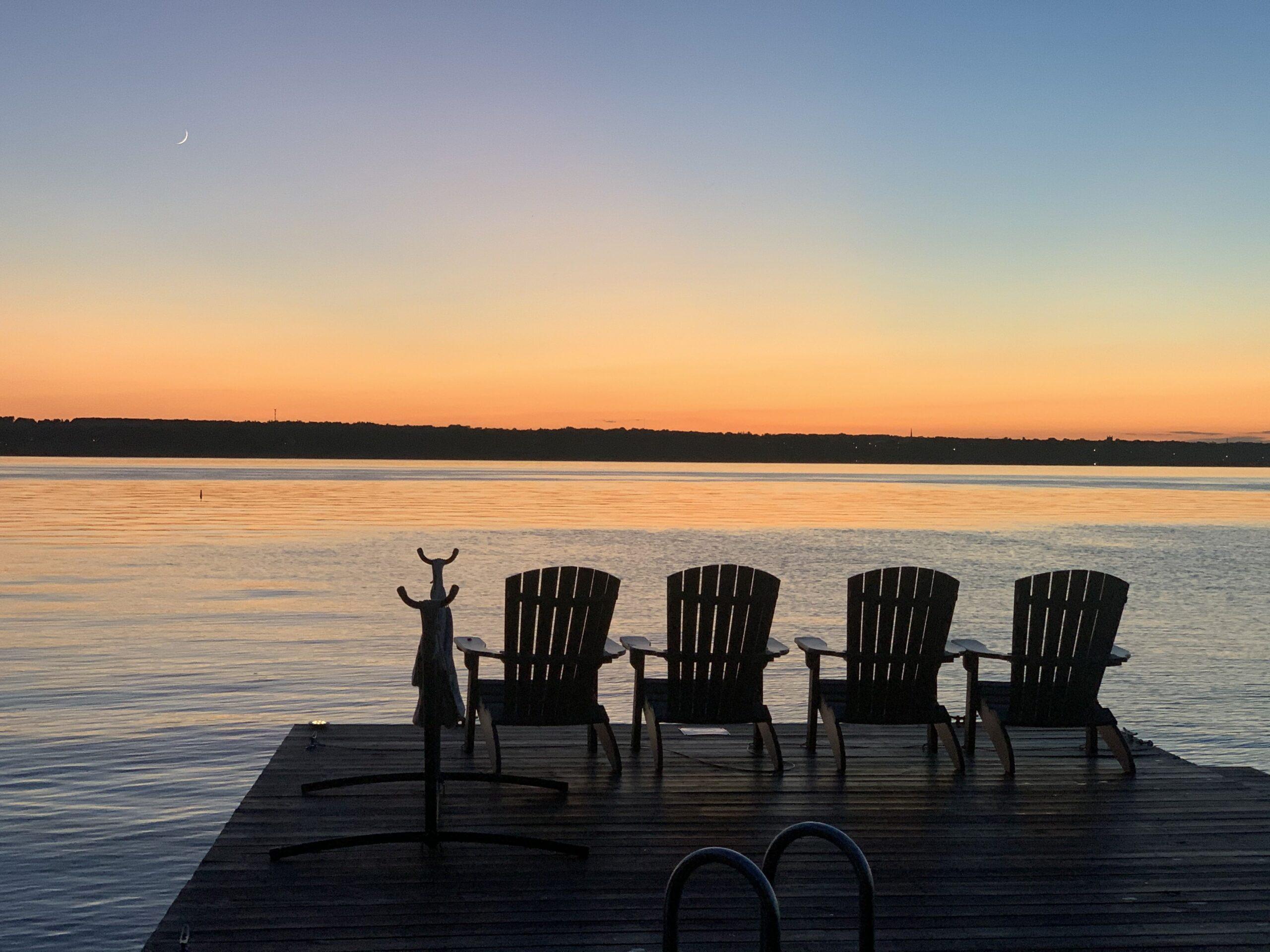 Sunset on Seneca Lake