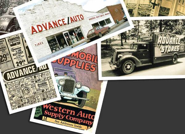 advance auto parts vintage