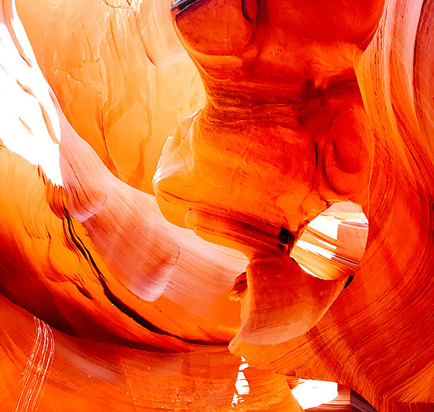 antelope canyon walls