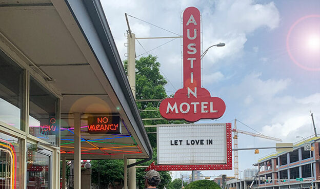 austin motel phallic sign review