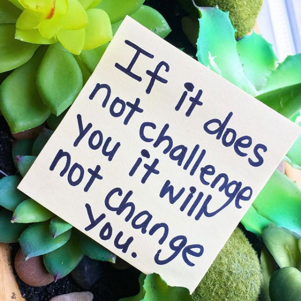 if it doesn't challenge you weight loss quote