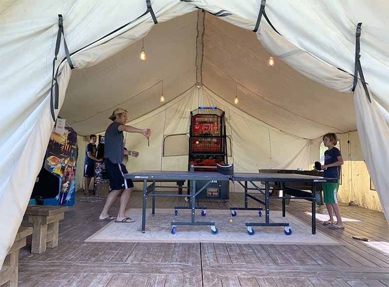 conestoga ranch game tent