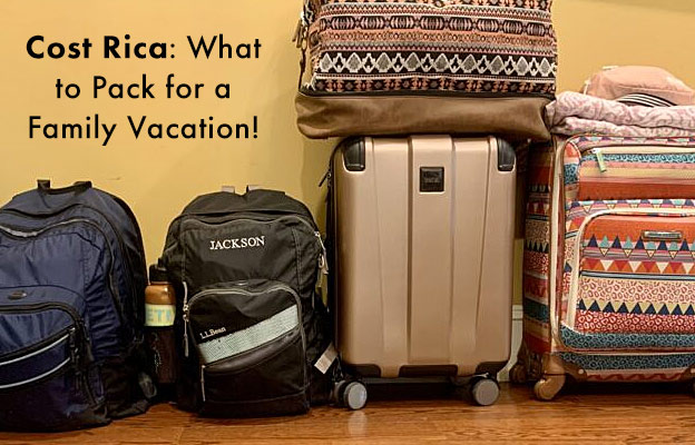 costa rica what to pack
