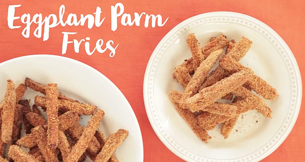 eggplant parm fries recipe