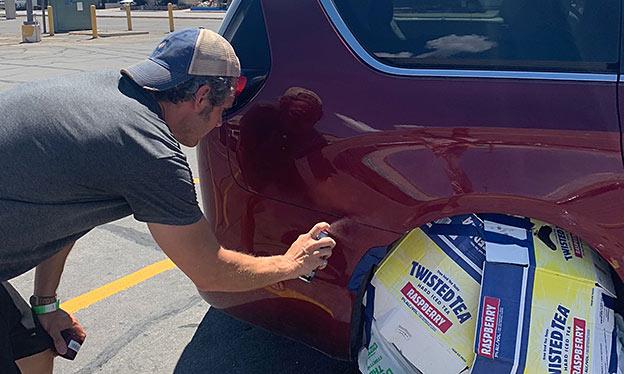 fix scratches car paint