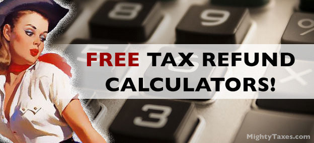 free tax refund calculator