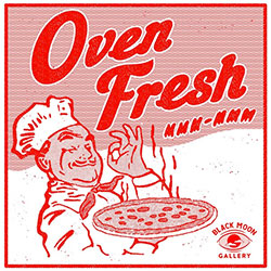 fresh pizza