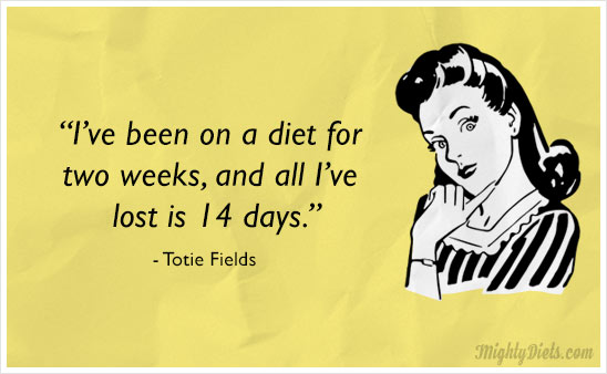 funny diet pic with caption