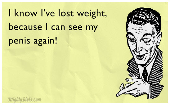 funny weight loss man
