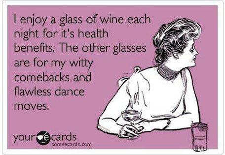 funny wine health