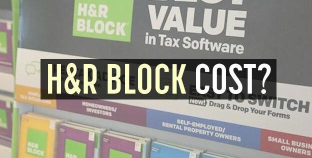 h r block cost