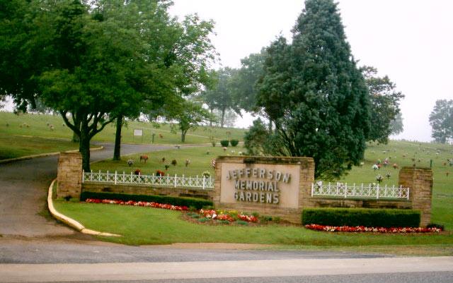 jefferson memorial gardens cemetary