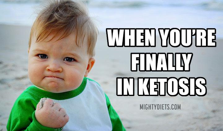 keto funny pic baby ketosis