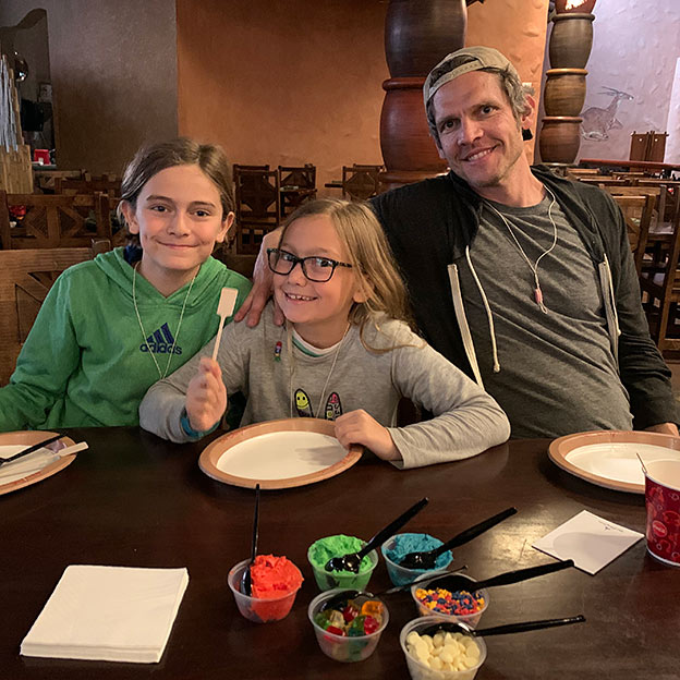 Ready to decorate cookies - another complimentary activity at Animal Kingdom Lodge