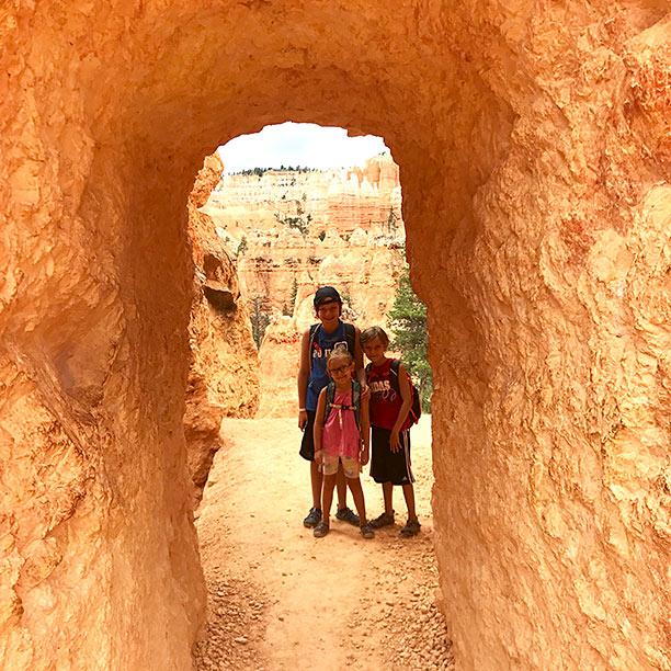 kids bryce canyon trip