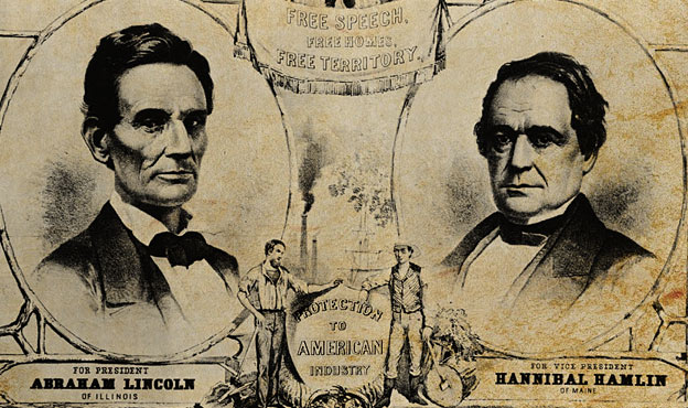 lincoln presidential campaign poster