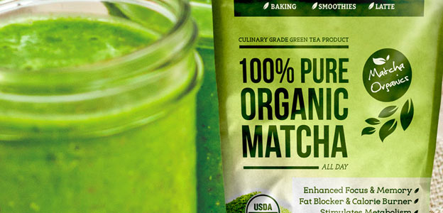 matcha green tea supplement