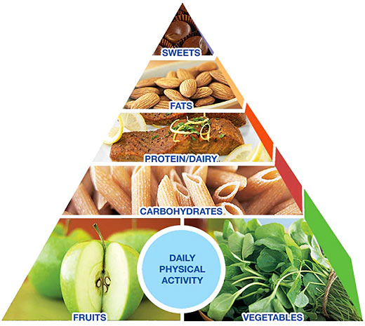 mayo clinic diet pyramid