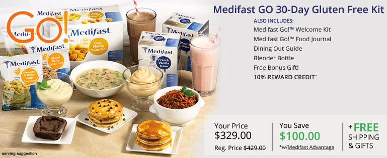 medifast gluten free kit