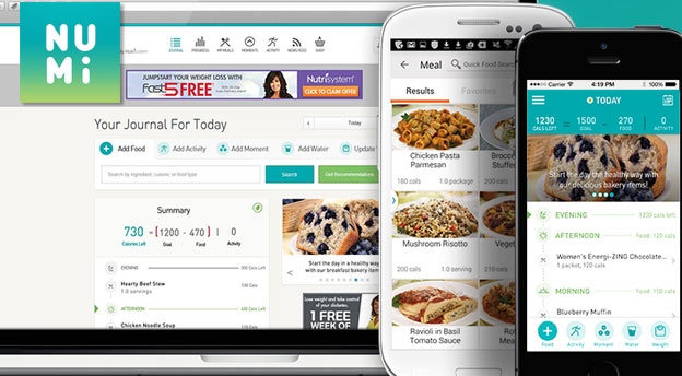 numi nutrisystem app review