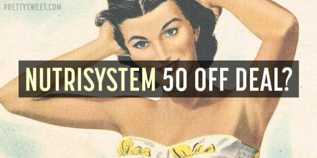 nutrisystem 50 off deal