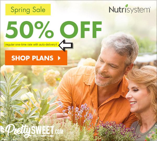 nutrisystem 50% off deal spring