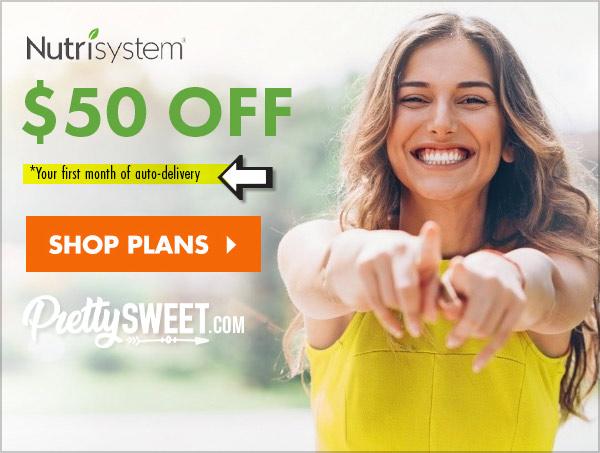 nutrisystem $50 off sale