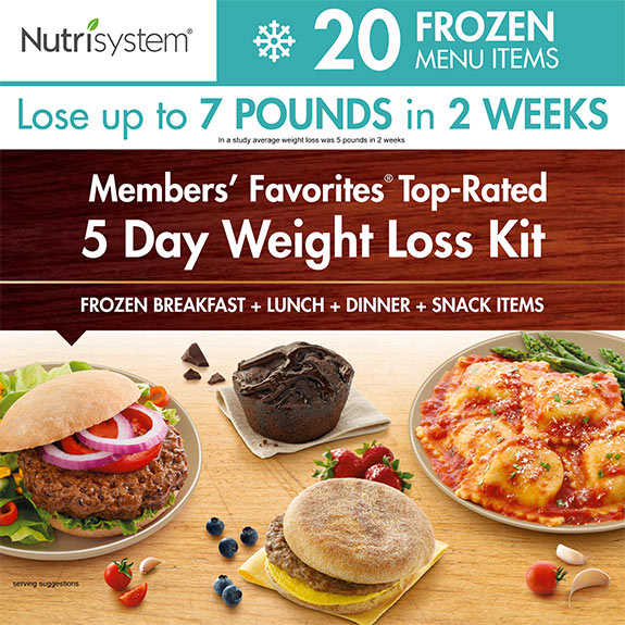 nutrisystem 5-day frozen kit
