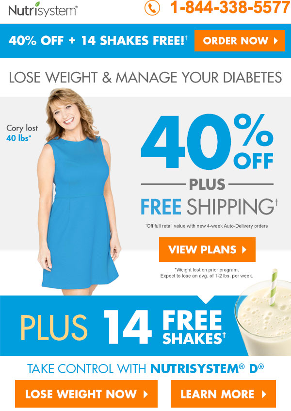 featured nutrisystem d signup coupon