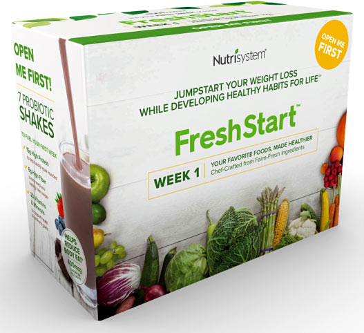 nutrisystem fresh start week 1 box