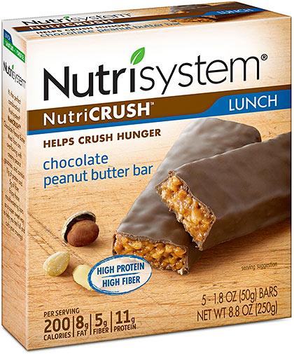 nutrisystem nutricrush bars walmart