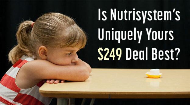 nutrisystem uniquely yours 249