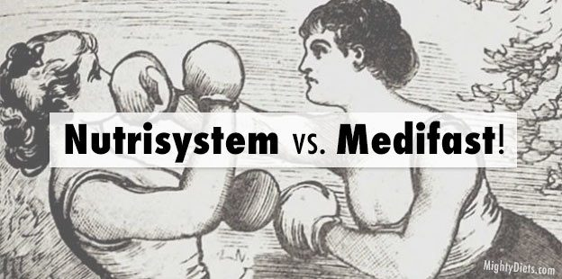 Nutrisystem vs. Medifast: Which Is