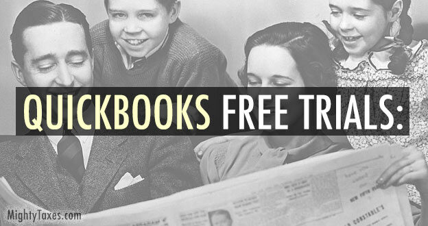 quickbooks free trials