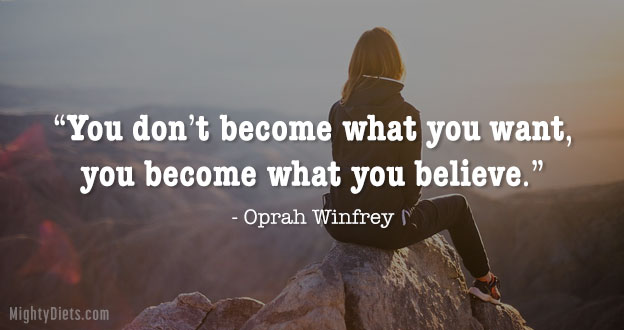 weight loss quote oprah
