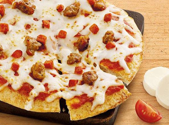 Nutrisystem sausage pizza