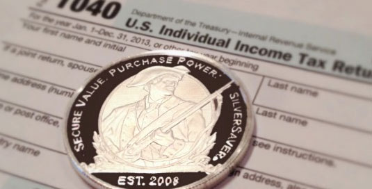 tax silver coin sales