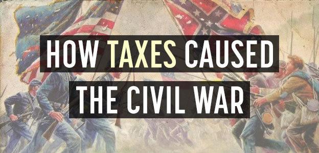 taxes caused civil war