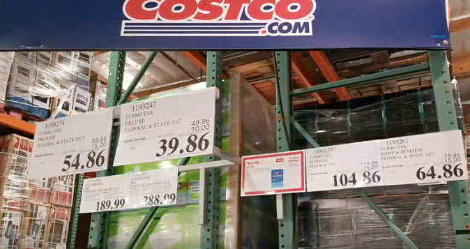 turbotax price at costco