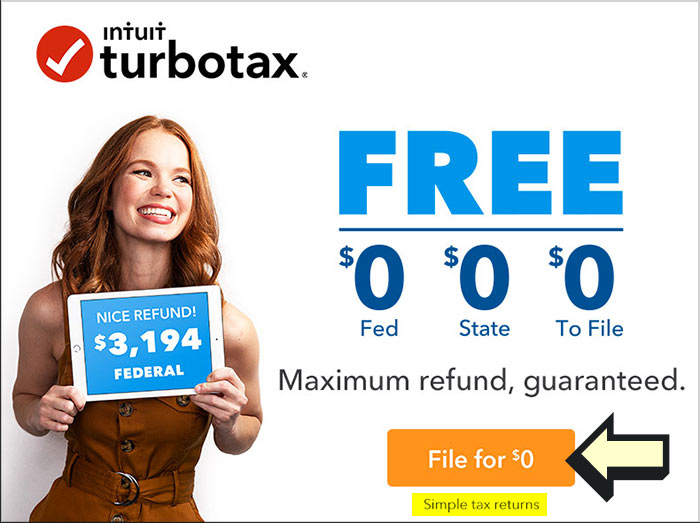 """Is TurboTax Free? How Federal & State """"Free"""" Works • 2019"""