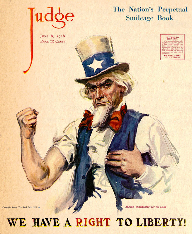 uncle sam judge magazine