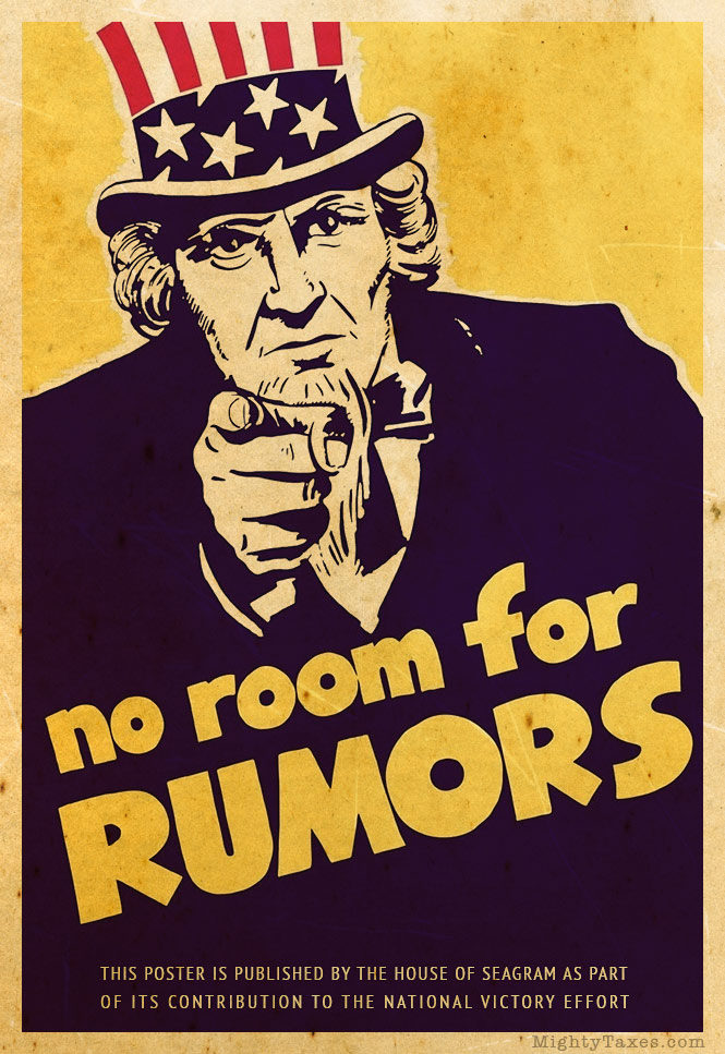 uncle sam poster rumors