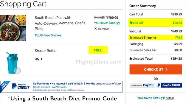 use south beach promo code